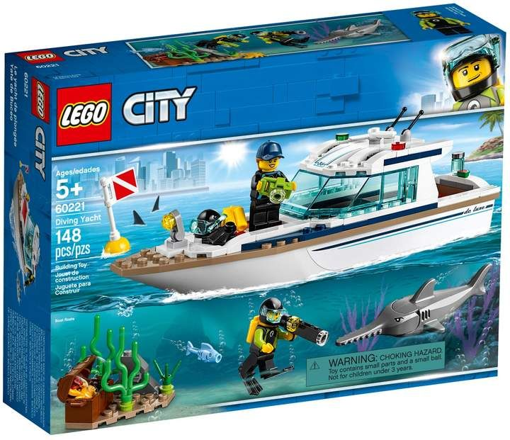 Lego City Diving Yacht 60221 Lego City