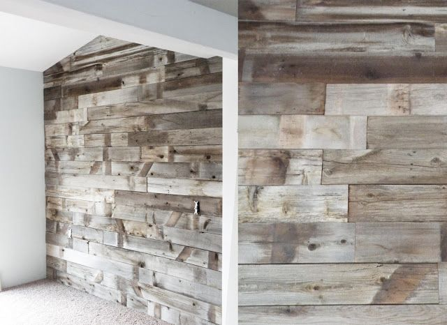 Barn Wood Wall, for remodel of screened porch? | House ...