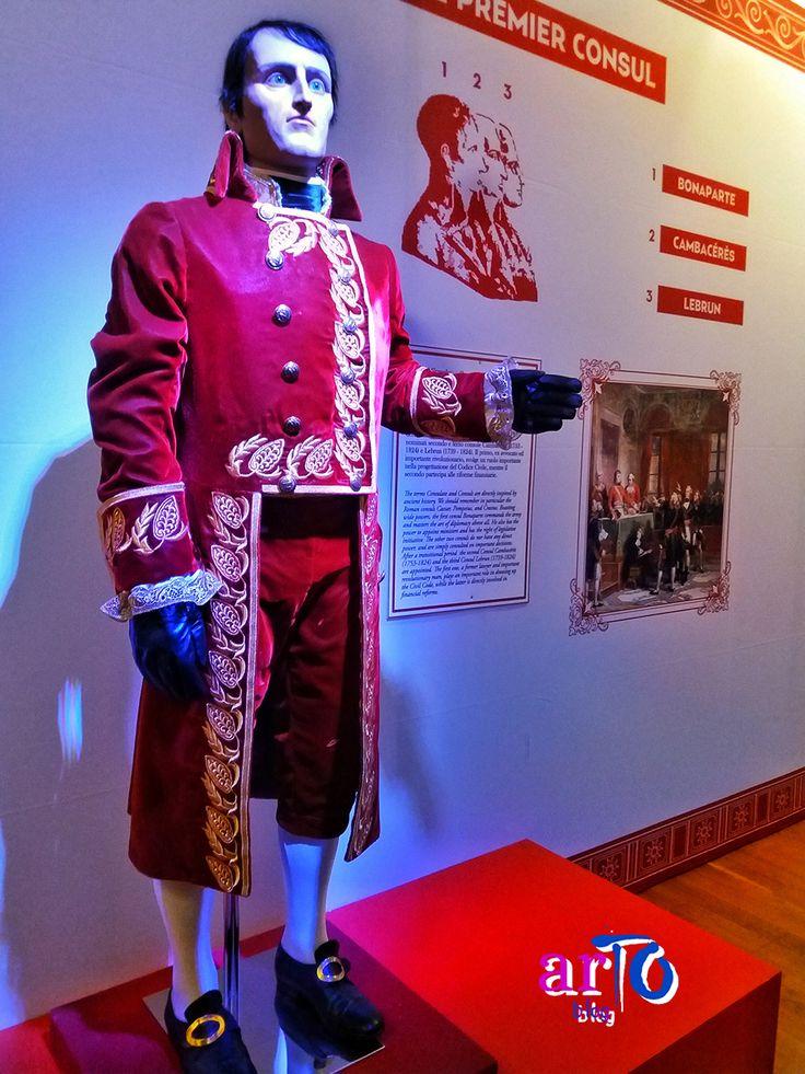 """Il console Napoleone (exhibition """"J'arrive. Napoleone Bonaparte"""" in Turin) #history #exhibitionfo/"""