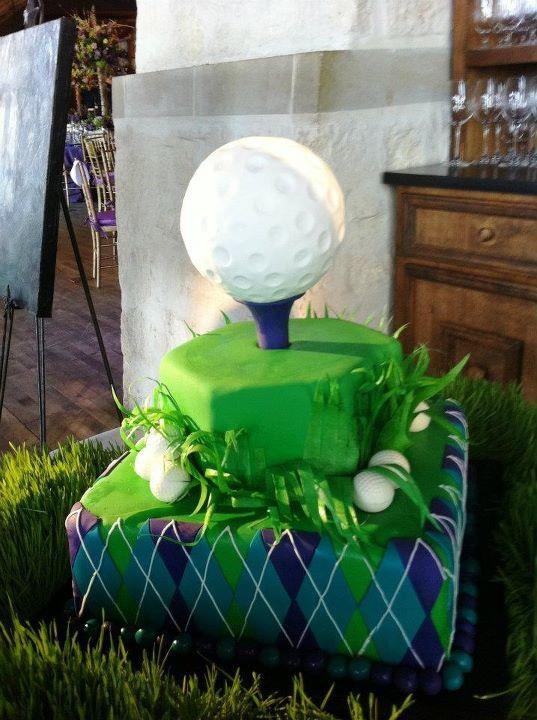 four! specialty cake golf
