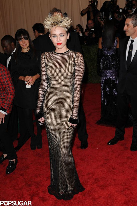Miley Cyrus Halloween costume — get her punk-inspired Met Gala look