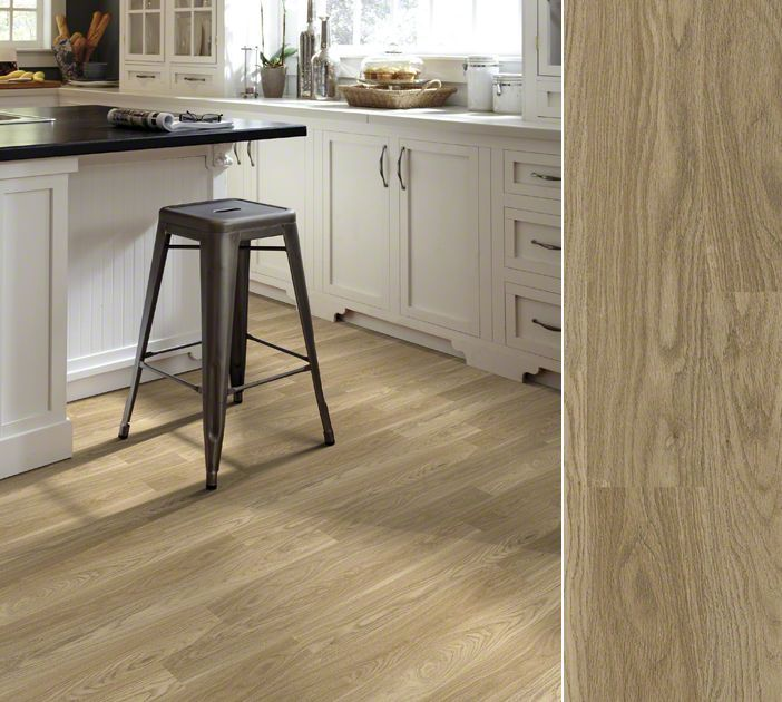 Shaw Array Luxury Vinyl Plank In Style Aviator Plank, Color Atmosphere. Easy  To Install