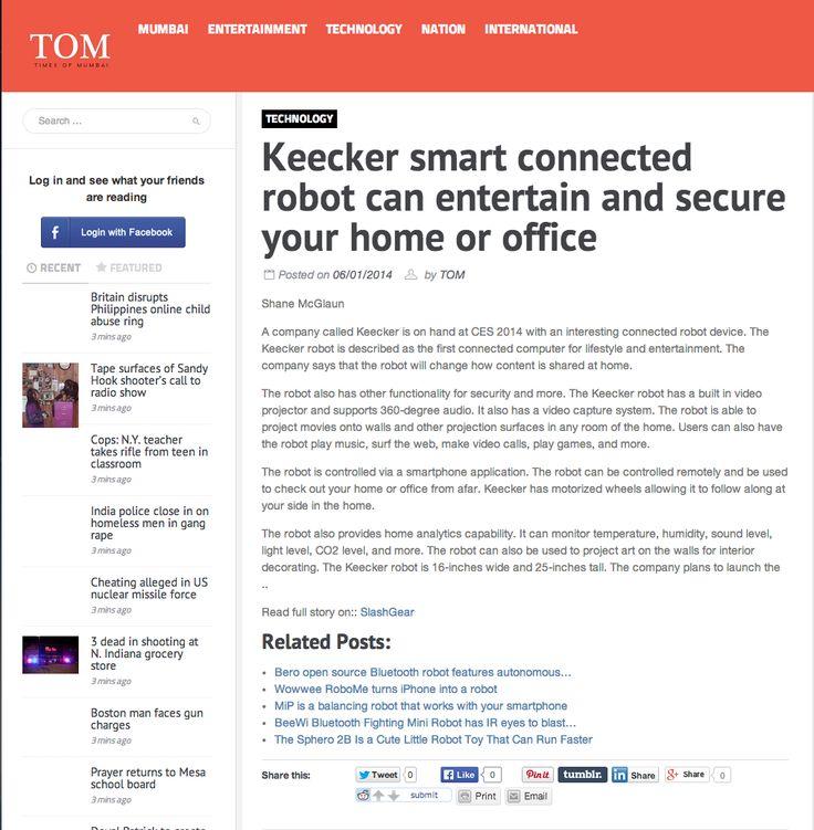 Times of MUMBAi talks about KEECKER!