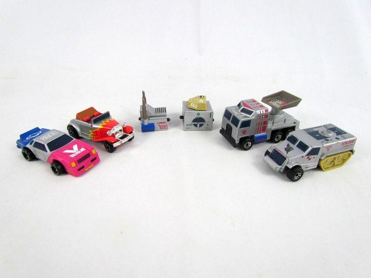 Vtg 1989 Matchbox Connectables Lot Mix & Match Pieces Roadster Truck NASCAR Car #Matchbox