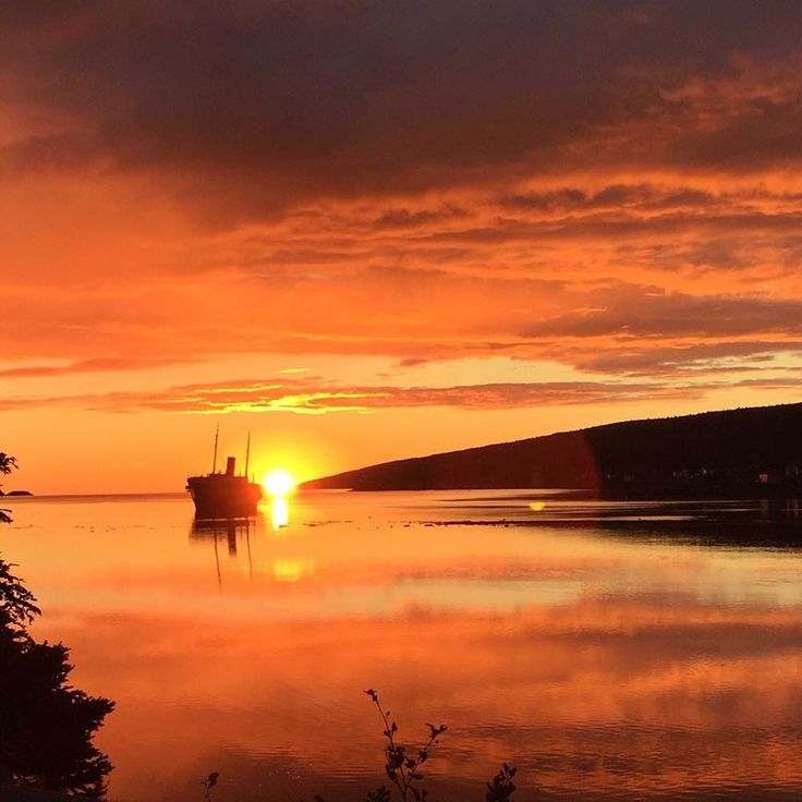 Early morning view of The Kyle in Harbour Grace. John  Burke photo.
