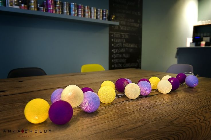 Zestaw CROCUSES Zamiast krokusów, żonkili i narcyzów, lub oprócz nich... ciepłe fiolety w dwóch odcieniach, i dwie żółcie - idealne na poprawę nastroju :) http://www.cottonballlights.pl/onze-favorieten.html