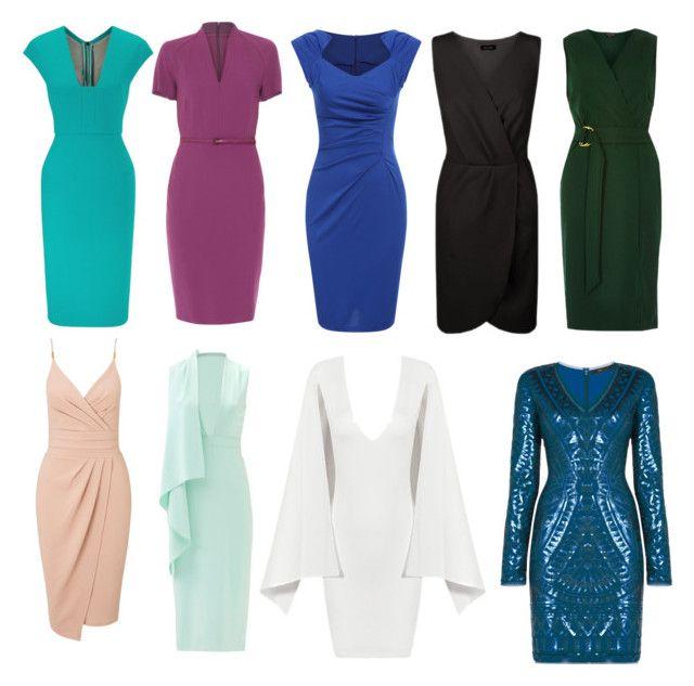 """Dresses for L"" by natalya-dyukina on Polyvore featuring мода, MaxMara, Cushnie Et Ochs, Miss Selfridge, Roland Mouret, Posh Girl, River Island и BCBGMAXAZRIA"