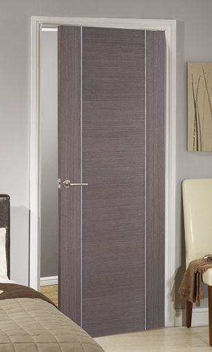 Alcaraz Chocolate Grey Internal Door