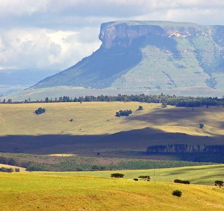 Giants Castle peak in the Drakensberg Mountains, KwaZulu-Natal, South Africa.