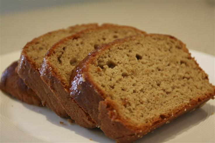 Australian Women's Weekly Banana Bread Recipe, with a jam glaze.