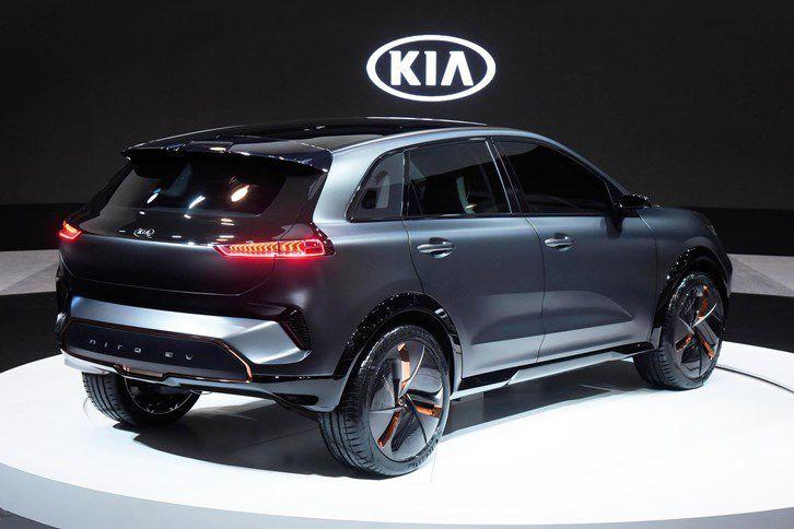 Kia Niro Ev Is A Thinly Disguised Concept With 238 Miles Of Range Kia New Trucks Motor Car