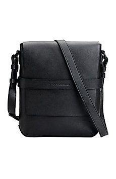 Leather Strap Crossbody