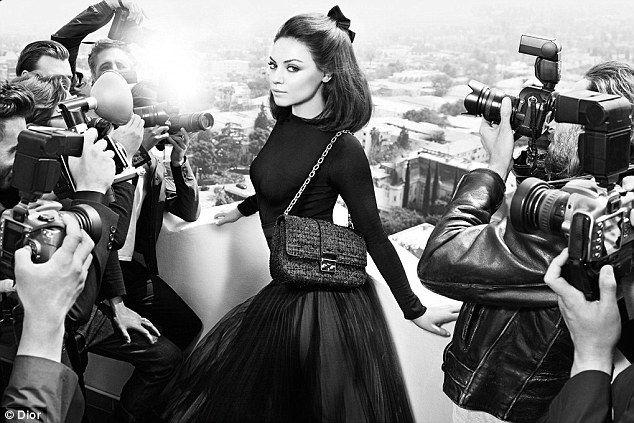 Mila Kunis dior!: Miss Dior, Mila Kunis, Dior Handbags, Ads Campaigns, Milakuni, Fall 2012, Missdior, Dior Fall, Mario Sorrenti