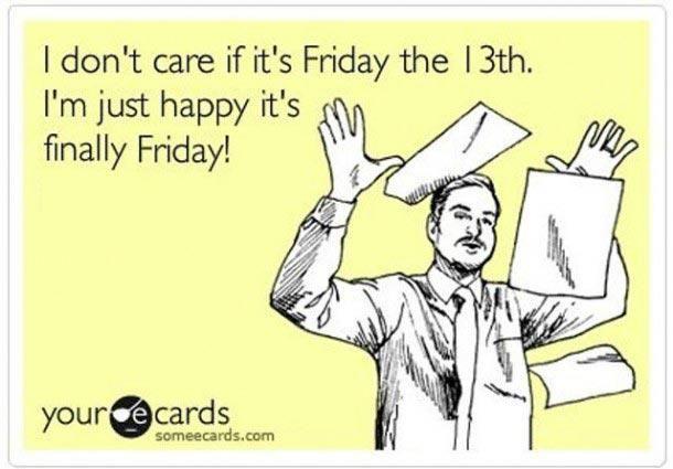 Happy Friday the 13th! #Friday