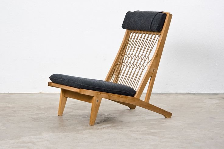 pair of hans wegner lounge chairs antiques crafts and. Black Bedroom Furniture Sets. Home Design Ideas