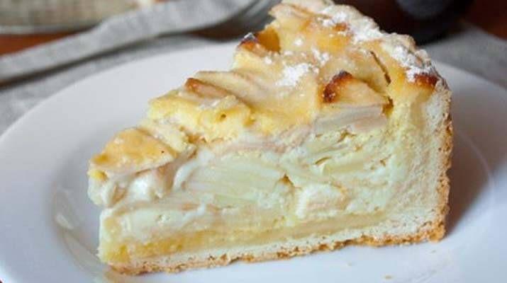 Яблочный пирог с начинкой (Цветаевский). Лучшие рецепты для вас на сайте «Люблю готовить»
