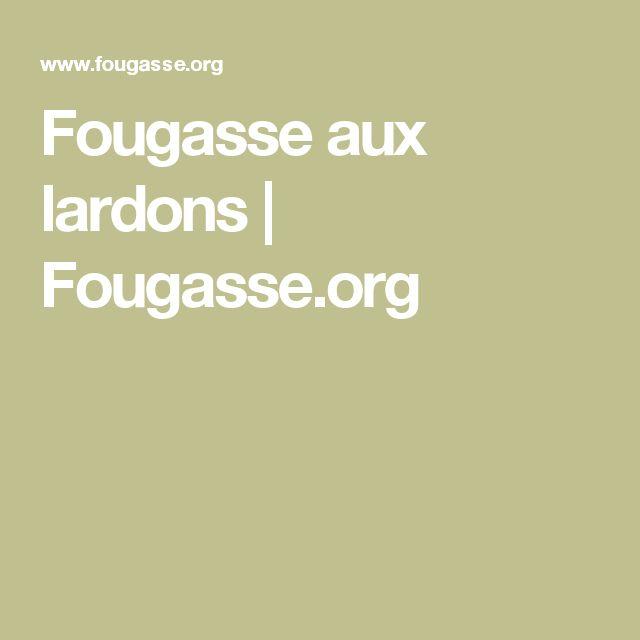 Fougasse aux lardons | Fougasse.org