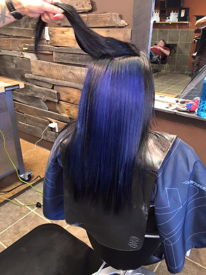 Bold Blue with Color.Me by Kevin.Murphy #loveit #kevinmurphy #bold #babe