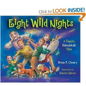 $ Book: Eight Wild Nights, A Family Hanukkah Tale by Brian Cleary