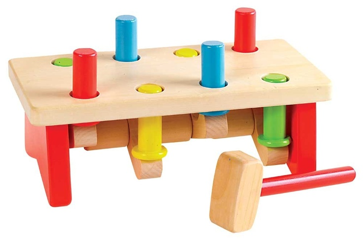 Seesaw Pounding Bench SWT-5459719 - My son would love hammering this toy.