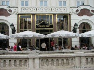 Cafe Gerbeaud Budapesta (2)