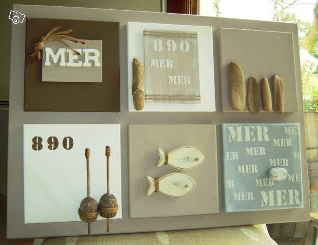 décoration tableau mer