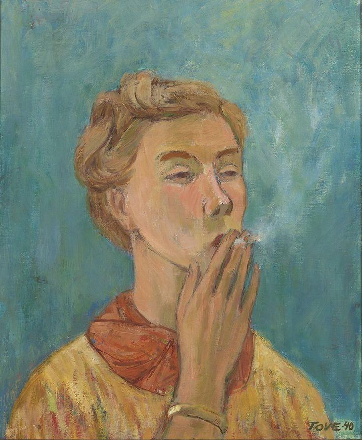 Tove Jansson self portrait 1940