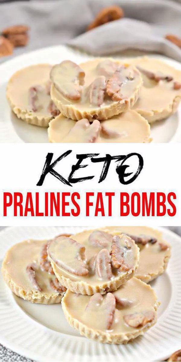 5 Ingredient Keto Pralines Fat Bombs – BEST Pralines Fat Bombs – Easy NO Sugar Low Carb Recipe