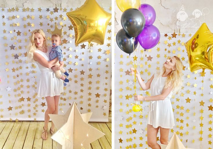 Super star party / Вечеринка в стиле Супер Стар / Декор из звезд