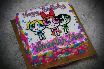 Powerpuff Girls Birthday Cake