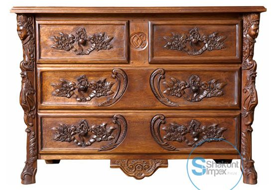 Hand carved chests of drawers @shakuntimpex #shakuntindustrialfurniture #furniture #handcarvedfurniture