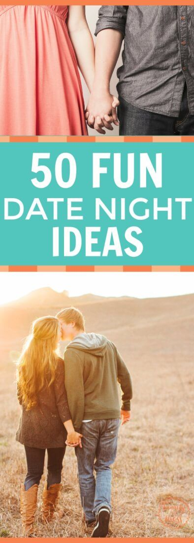 Instead of settling for dinner and a movie, add a little spark to your date night.  Check out these 50 fun date ideas!   via @wdcornelison