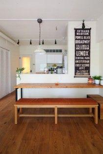 対面キッチン,カウンターキッチン,ダイニング,リノベーション,三井のリフォーム
