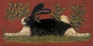 Folk Art: Bunnies Prints, Bunnies Art, Folk Art, Lisa Hilliker, Art Prints, Bunnies Posters, Red Folk, Folk Bunnies, Art Bunnies