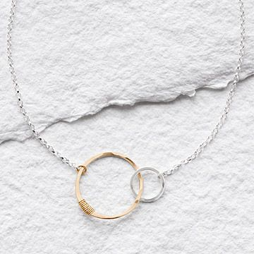 Look what I found at UncommonGoods: Links of Love Necklace for $52 #uncommongoods
