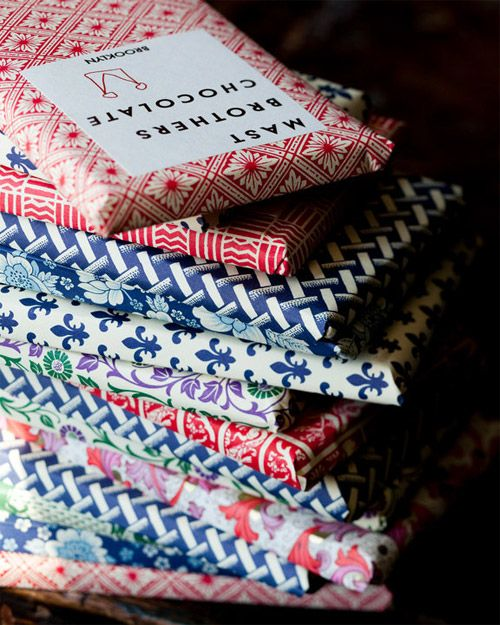 packaging for Mast Brothers chocolate. #vintage #packaging