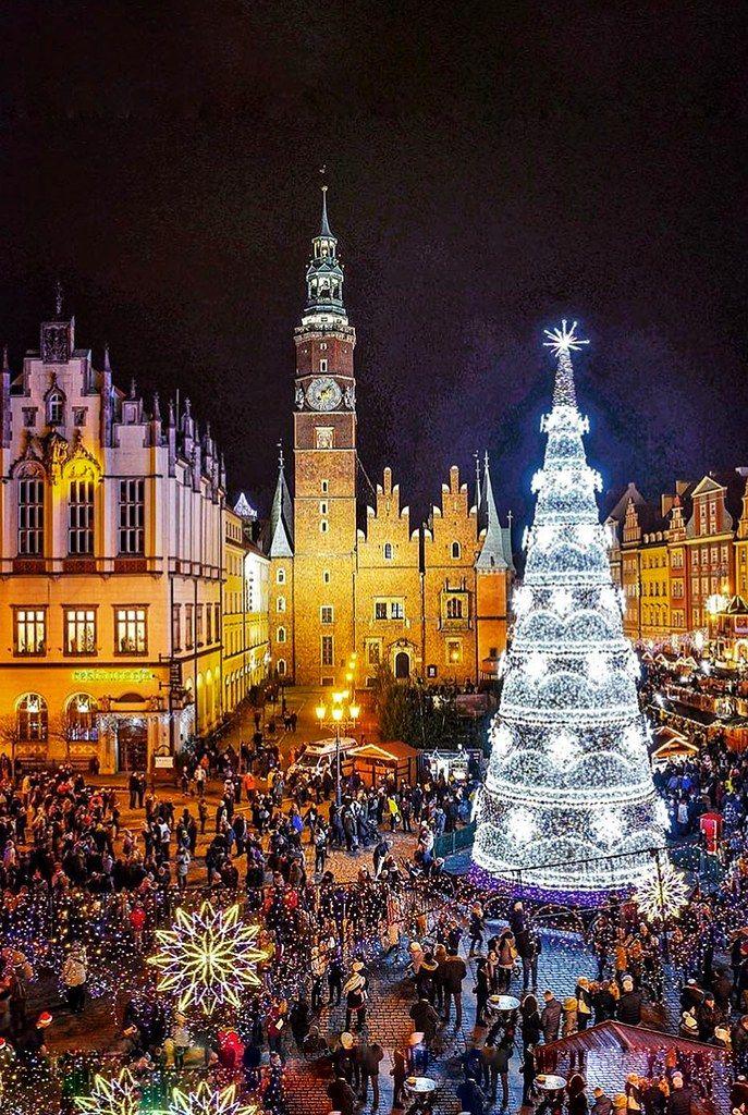 Christmas Market Poland WROCLAV Christmas in europe
