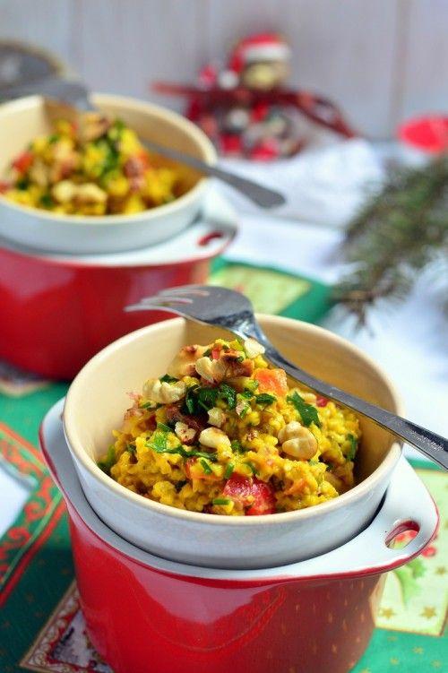 Zöldséges-fűszeres zabtöret-saláta recept