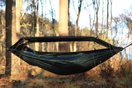 This is a new model for DD and is the same as the very popular DD Travel Hammock except this version has a very comfortable highly breathable