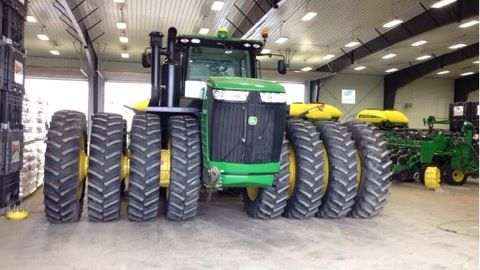 Quad tires john deere must be a 9560r tractors for Big tractor tires for free