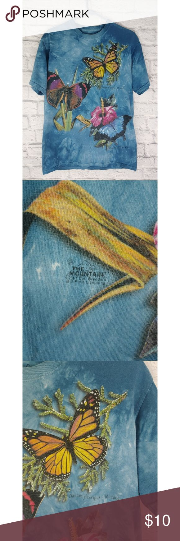 The Mountain 3-D Tee, Vintage 2001, Size Medium The Mountain 3-D Tee, Size Mediu... 3