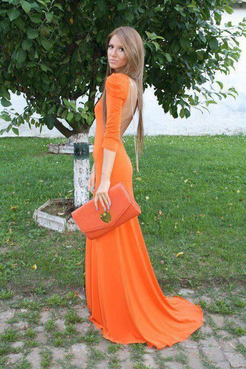Orange & stylish.
