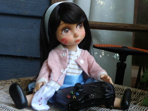 D.Va is ready to find her player 2! Adoption Fee: 290.55 + Postage Costs (Includes Limited Edition Certificate) #adoptioncosts