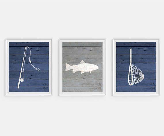 Hey, I found this really awesome Etsy listing at https://www.etsy.com/listing/521865103/fishing-art-prints-fish-decor-boys-wall
