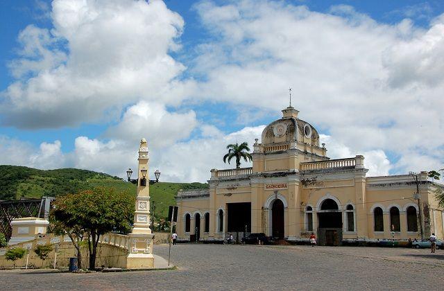 Cachoeira, Bahia - Brasil  antiga ferroviária