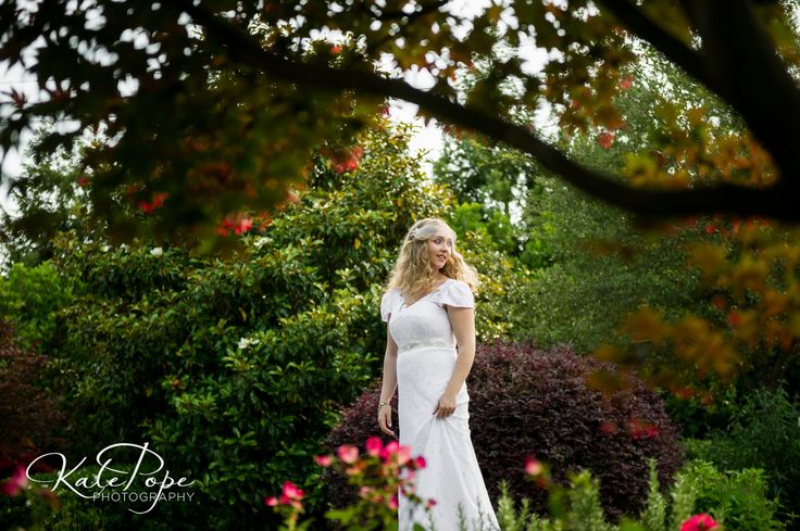 Bridal Portrait in our gardens in May