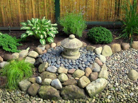 principales ideas increbles sobre jardines pequeos con piedras en pinterest jardn con piedras paisajismo de piedra y senderos de jardnes de piedra