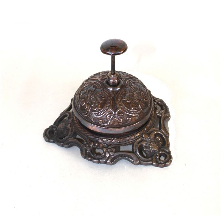 Old Fashioned Antique SOLID BRASS front desk retail counter store BELL  Replica Bronze Finish (The - 47 Best I Can Hear The Bells Images On Pinterest Le'veon Bell