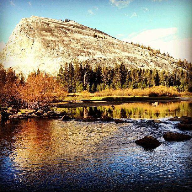 Tuolumne Meadows in Yosemite National Park, CA
