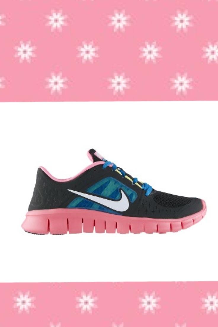 Nike run shoes for girls cute